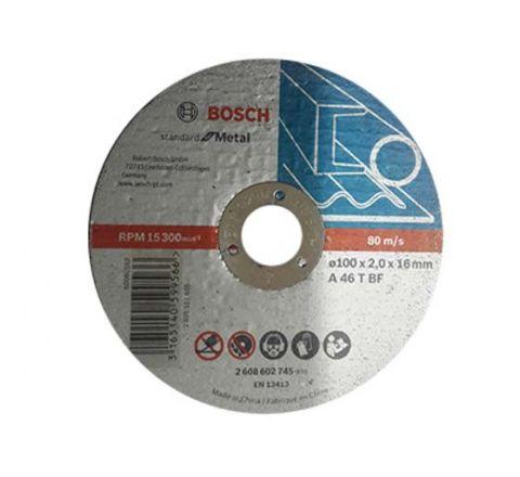 Bosch 4 Inch Cut Off Wheels 100 x 2 x 16 mm 2608602745 ( abr_cut_cow_019 )