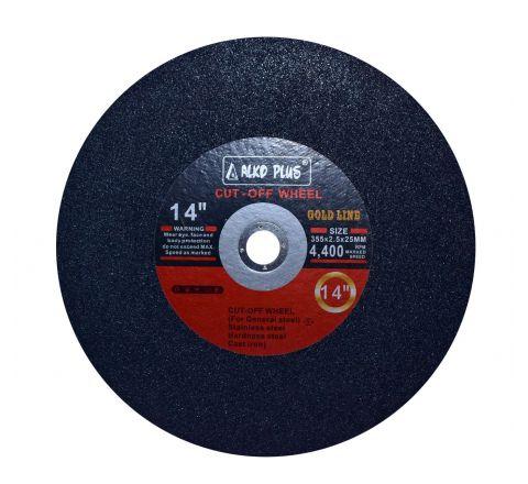 Alko Plus 14 inch Chop Saw, Black, 355 X 2.5 X 25 mm ( abr_cut_csw_004 )