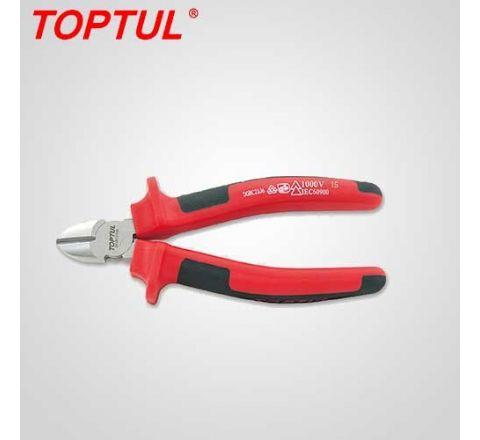 Toptul 6 quot VDE Insu Diagonal Cutting Pliers -DGBC2106 HT_PNC_034