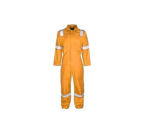 Galaxy Enterprise Orange Color Polyester Cotton Boiler Suit WM 009