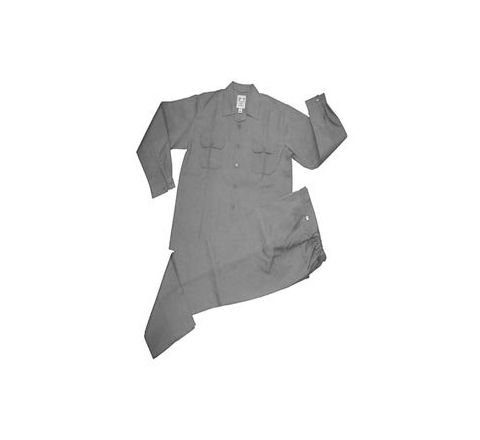 Galaxy Enterprise Grey Color Polyester Viscose Shirt And Trouser WM 008