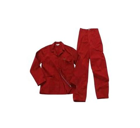 Galaxy Enterprise Red Color Cotton Jacket And Trouser WM 006
