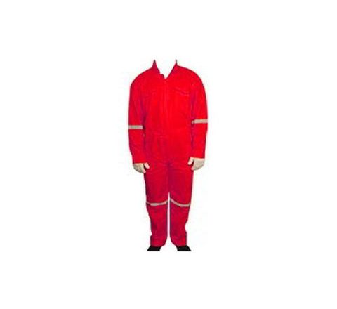 Galaxy Enterprise Red Color Polyester Cotton Boiler Suit WM 002