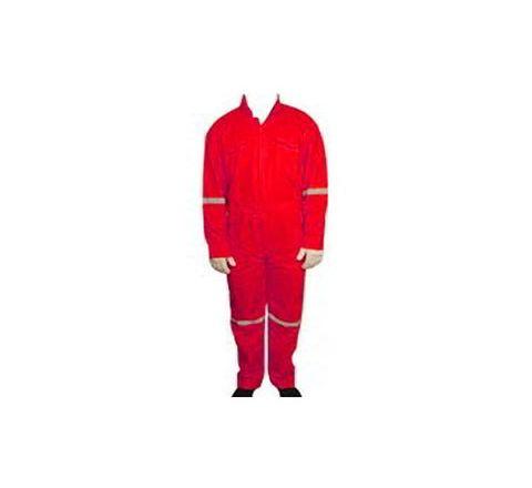 Galaxy Enterprise Red Color Polyester Viscose Boiler Suit WM 002