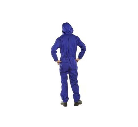 Sukai Blue Colour Boiler Suit With Hood 5300