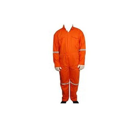 Galaxy Enterprise Orange Color Cotton Boiler Suit WM 002
