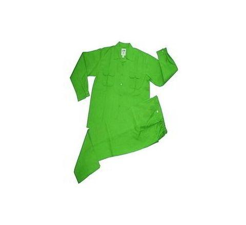 Galaxy Enterprise Green Color Cotton Shirt And Trouser WM 008