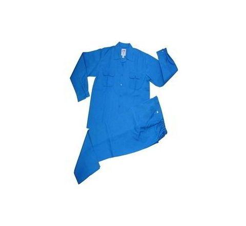 Galaxy Enterprise Royal Blue Color Polyester Cotton Shirt And Trouser WM 008