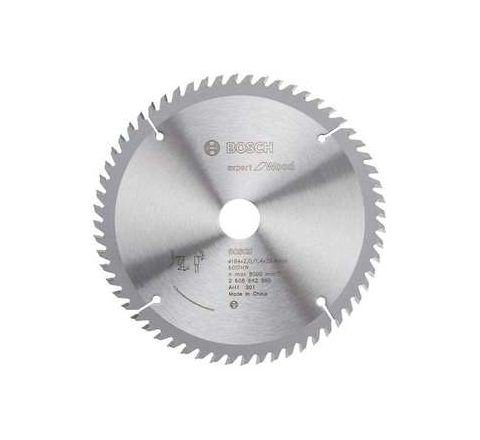 Bosch 60 Teeth Wood Expert Circular Saw Blade 2608-642-998 by Bosch
