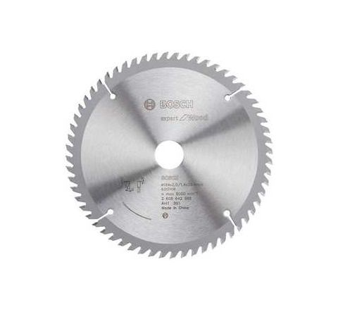 Bosch 60 Teeth Wood Expert Circular Saw Blade 2608-642-981 by Bosch