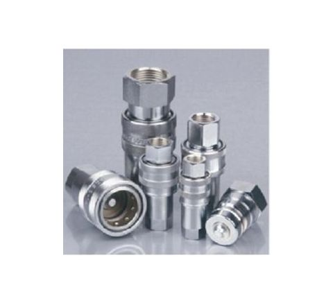 "JELPC (KZD-04PF) Hydraulic Nitto Brass Type Coupler 1/2"" (BSP) by JELPC"