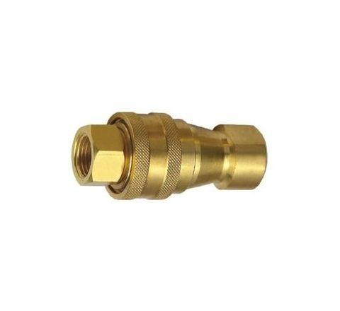 "Techno 1/8"" Brass Hydraulic Coupling by Techno"