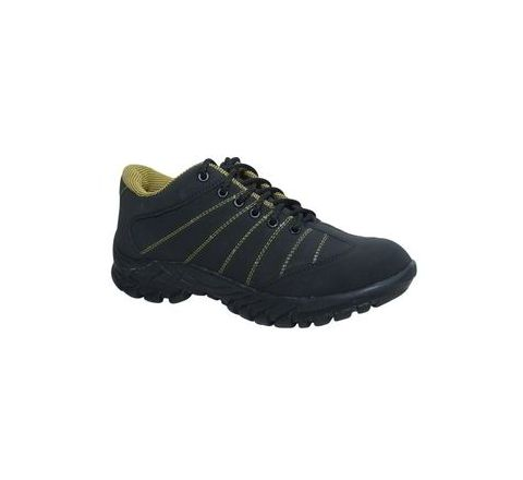Wonker SR-0009 10.0 No. Black Colour Steel Toe Shoes