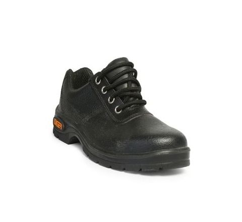 Tiger Lorex 10 No. Black Steel Toe Safety shoes