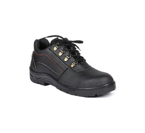 Wonker SR-0004 9.0 No. Black Colour Steel Toe Shoes